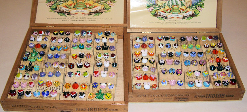 Push Pins All Ready For Craft Show