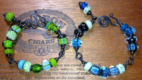 Green-BlueBracelets
