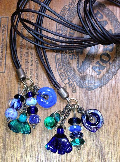 LeatherCordDangleNecklace-Blue