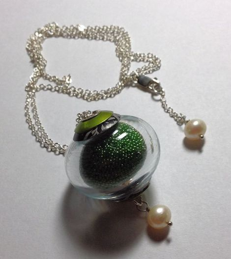 GreenMicrobeadNecklace