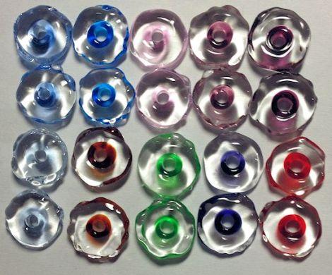 ColoredIceChipBeads