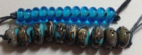 Turquoise-SilveredIvoryBeadSet-1