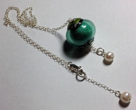 GreenMicrobeadNecklace-2nd