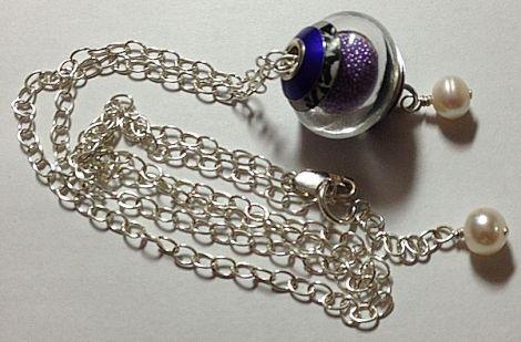LilacMicrobeadsNecklace