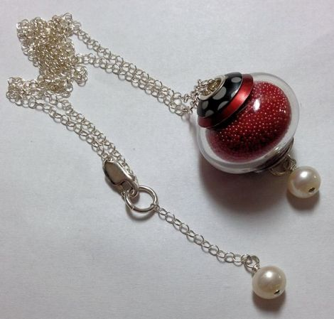 RedMicrobeadNecklace