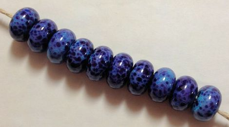 TurquoiseAfricanVioletBeads-3