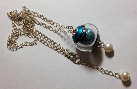 TurquoiseMicrobeadsNecklace