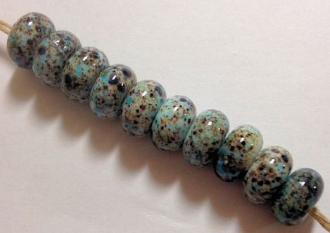 BrownBlueFritBeads-2
