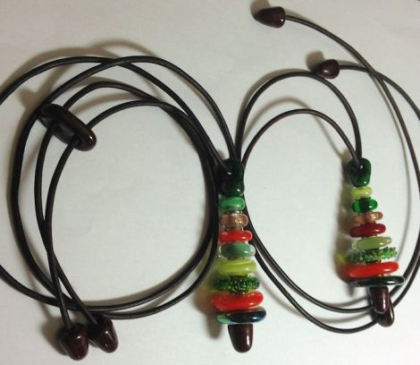 ChristmasTreeNecklaces